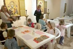 Детская Воскресная школа Киев. Галерея-ризница Чудотворные иконы Афона