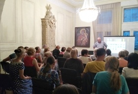 Пчеловодство в христианстве, лекция в Киеве