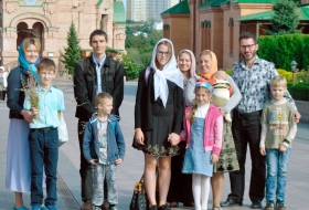 Детки Воскресной школы посетили Голосеевский монастырь