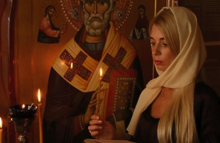 Ночная молитва возле икон Киев