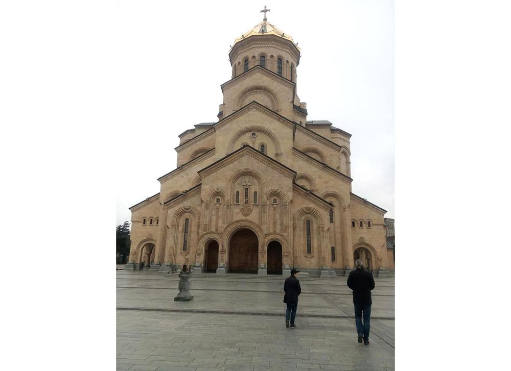 Поездка по Святыням Грузии в апреле, храм Преображения Господня на Вырлице