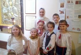Поздравления с Рождеством Христовым от воспитанников Воскресной школы Галереи-ризницы
