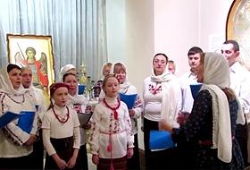 Рождественский концерт хора храма Воскресения Христова в Галерее-ризнице