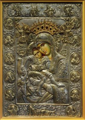 Чудотворная икона Божией Матери Достойно есть Милующая