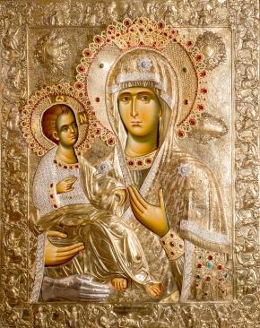 Чудотворная Икона Божией Матери Троеручица