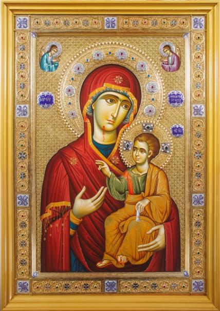 Чудотворная Икона Божией Матери Иверская Вратарница